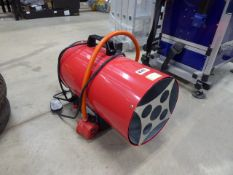 Small gas powered heater