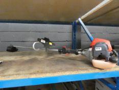 Robin petrol powered strimmer