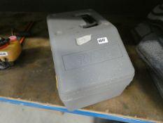 Ryobi petrol powered chainsaw in case