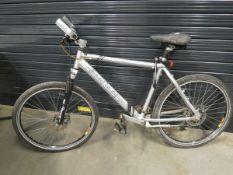 Claude Butler silver gents bike