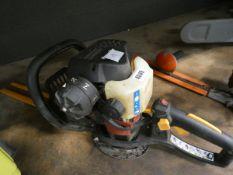 Home light petrol powered hedge cutter