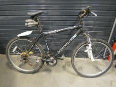 Reflex gents black mountain bike