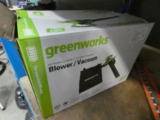 Greenworks blower vacuum