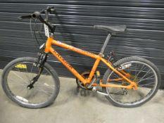 Orange Raleigh Scorpion childs bike