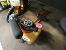 Robin petrol powered hedge cutter