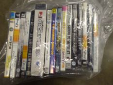 Bag of various PC games approx 16 in total