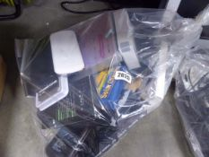Bag containing various capacity power banks