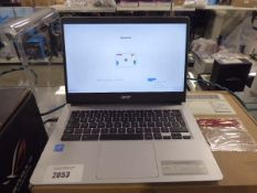 Acer chromebook 314 laptop with psu and box