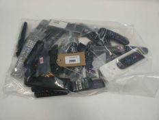 Bag of remote controls