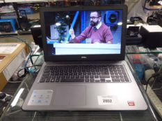 Dell Inspiron 15 5000 series laptop with 15.6'' display, AMD A9 7th gen. processor, 8gb ram, 1tb HDD