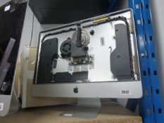 Apple iMac all in one chassis with fan component