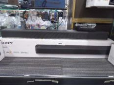 Sony HT-X8500 Dolby Atmos 2.1 channel sound bar with remote control, psu and box