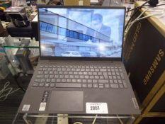 Lenovo Ideapad 5 laptop, 8gb ram, 128gb storage with windows 10 installed and psu