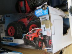 Powerdrive remote control truck boxed with no charger and controllers