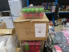 53 packs of Christmas decorations (4 in each set)