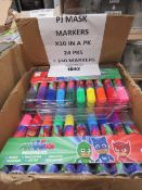 240 PJ mask markers (10 in each pack)