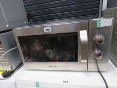 (107) Samsung microwave