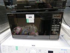Panasonic black microwave