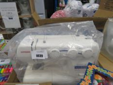 Genome sewing machine with pedal and box