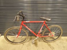 Peugeot red gents mountain cycle
