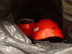 Bag of hard hats