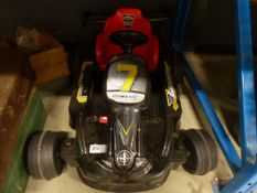 4064 Cometic electric child's style racing car