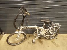 Santa Cruz folding electric cycle with battery and charger