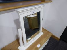 Florence White Painted Dressing Table Mirror (98)