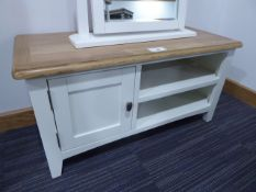 Florence Grey Painted TV Console (72)