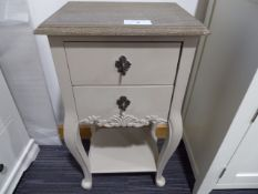 Perpignan 2 Drawer Lamp Table (12)