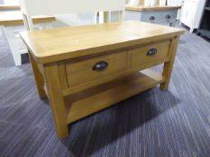 Rutland Oak Large Coffee Table (8)