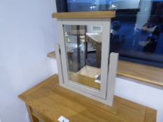 Rutland Oak Dressing Table Mirror