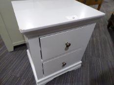 Florence Grey Painted Large Bedside Cabinet (58)