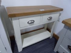 Hampshire Ivory Hall Table (6)