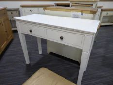 Gloucester White Painted Oak Dressing Table (11)