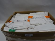 Bag containing approx 40 pairs of Jessica Simpson roll crop jeans in white (various sizes)