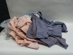 Bag containing gents shirts by Crew Clothing, Ben Sherman, Weatherproof, etc in various designs