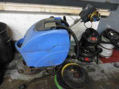 Numatic floor scrubber, 1ph