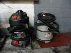 Sealey wet & dry vacuum cleaner and a Sealey industrial vacuum cleaner