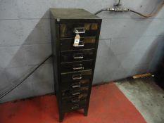 Metal multi-drawer cabinet