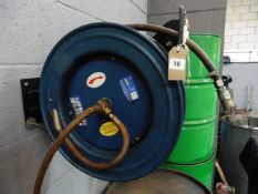 Power Craft air hose and reel