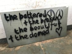'The Battered and Broken, the Beautiful and the Damned'