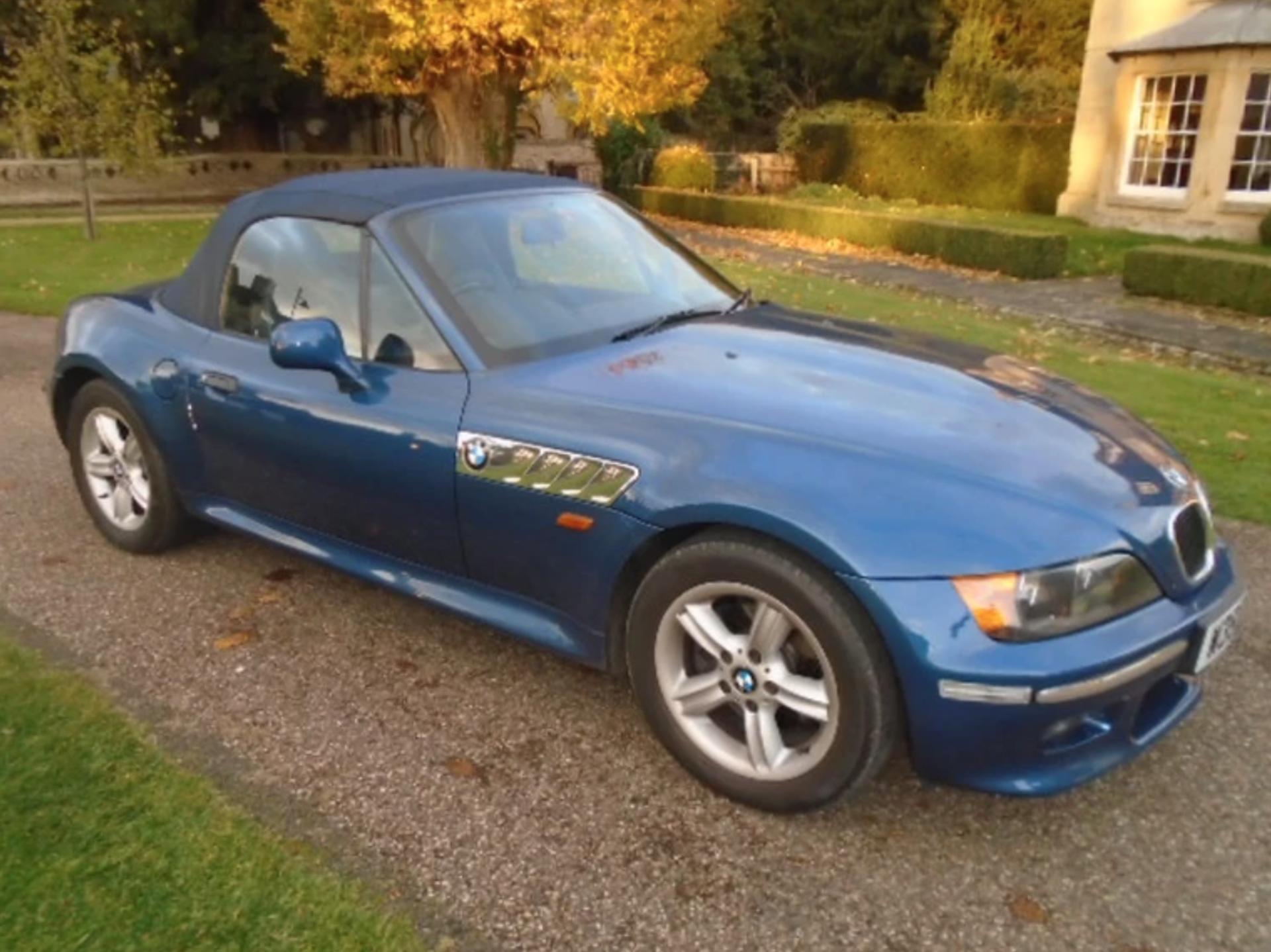 Lot 10 - 2000 BMW Z3 2.8 Triple Blue 93K