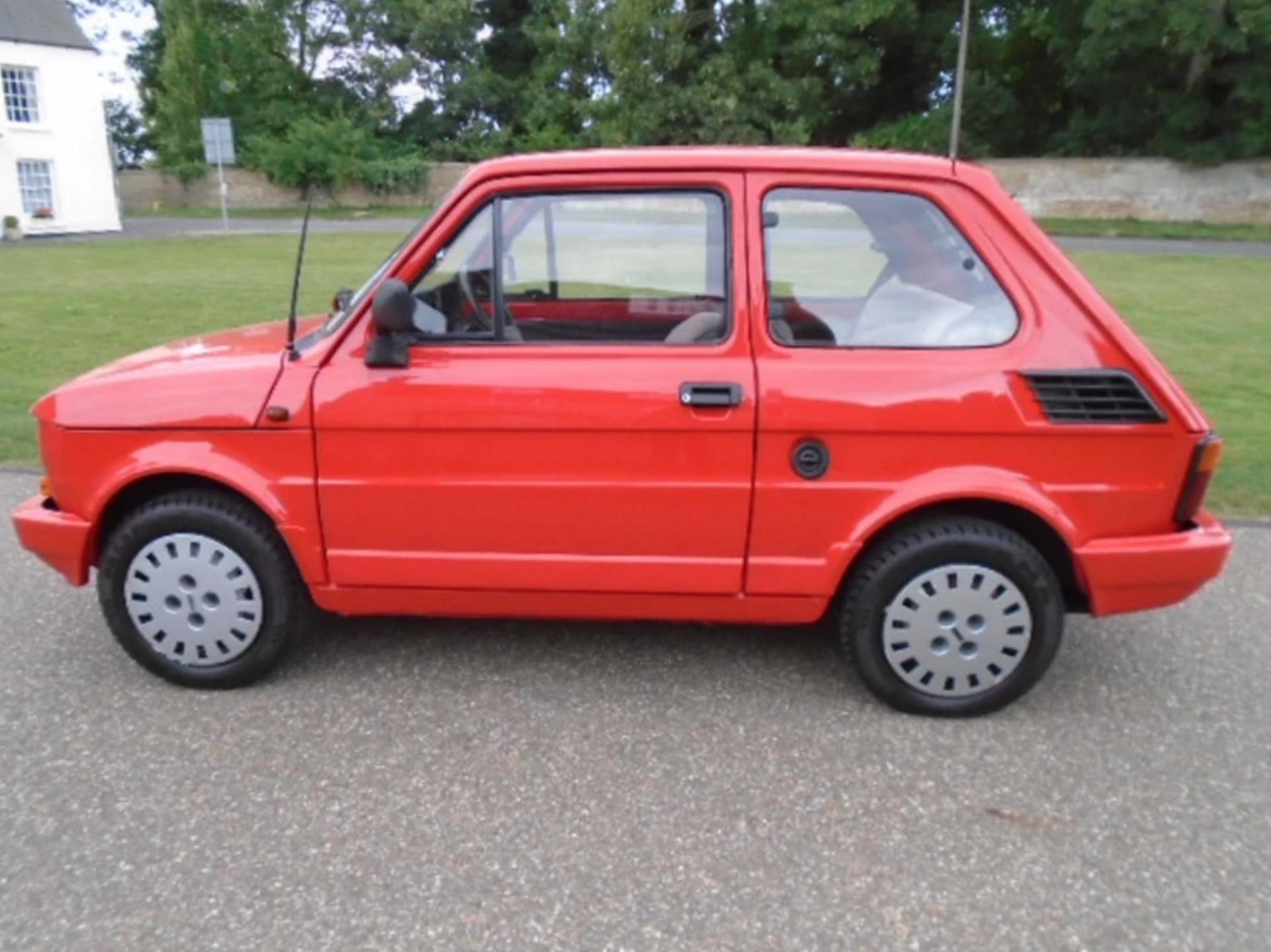 Lot 9 - 1988 Fiat 126 'BIS' Restored car.