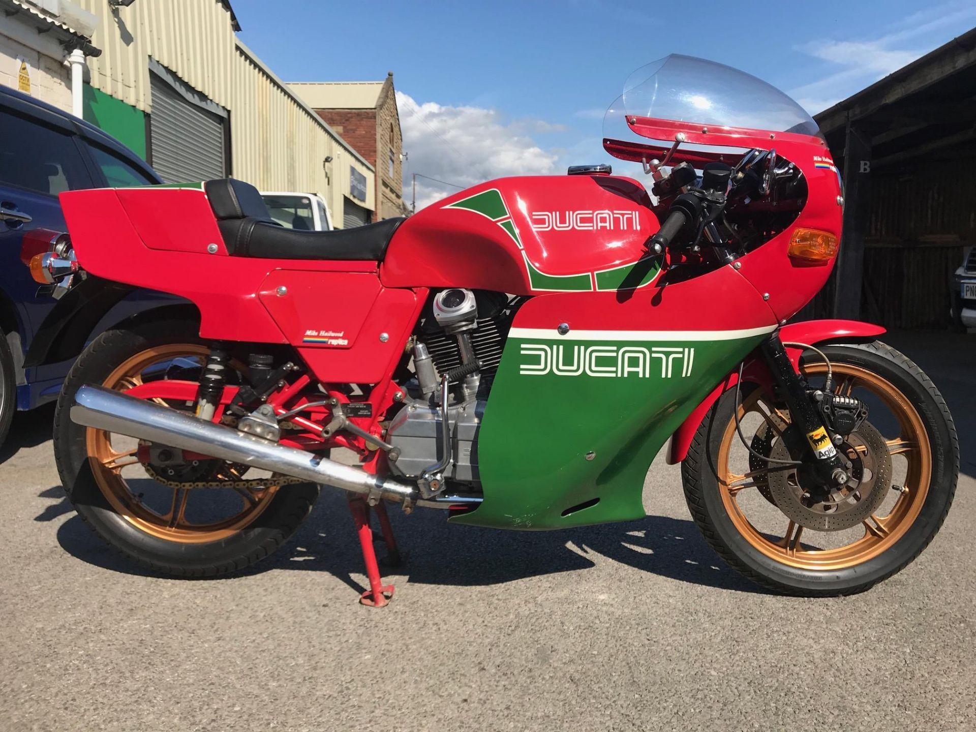 Lot 14 - 1982 Ducati MHR900