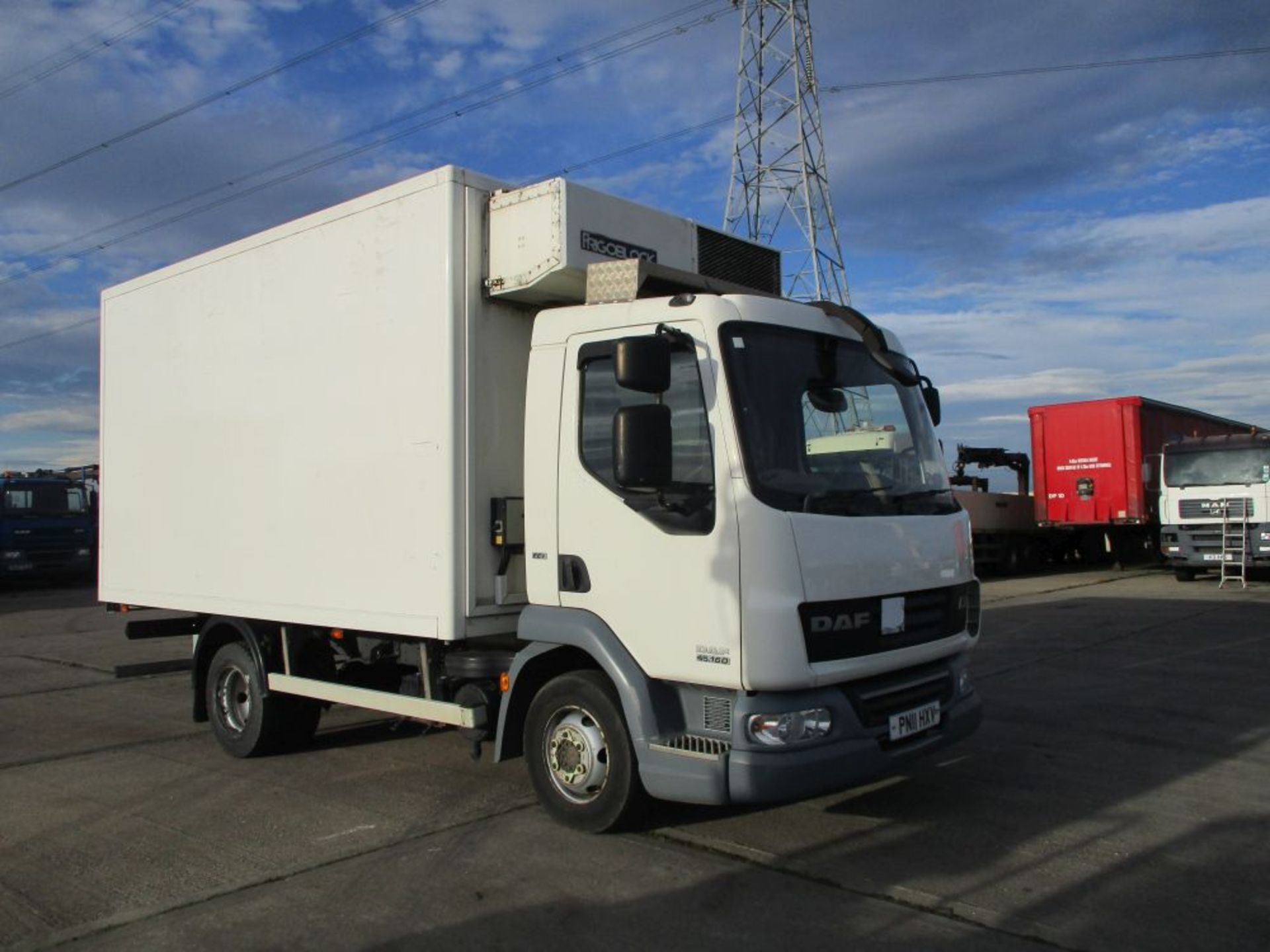 Lot 16 - DAF LF 45 160 15FT Fridge With Frigoblock
