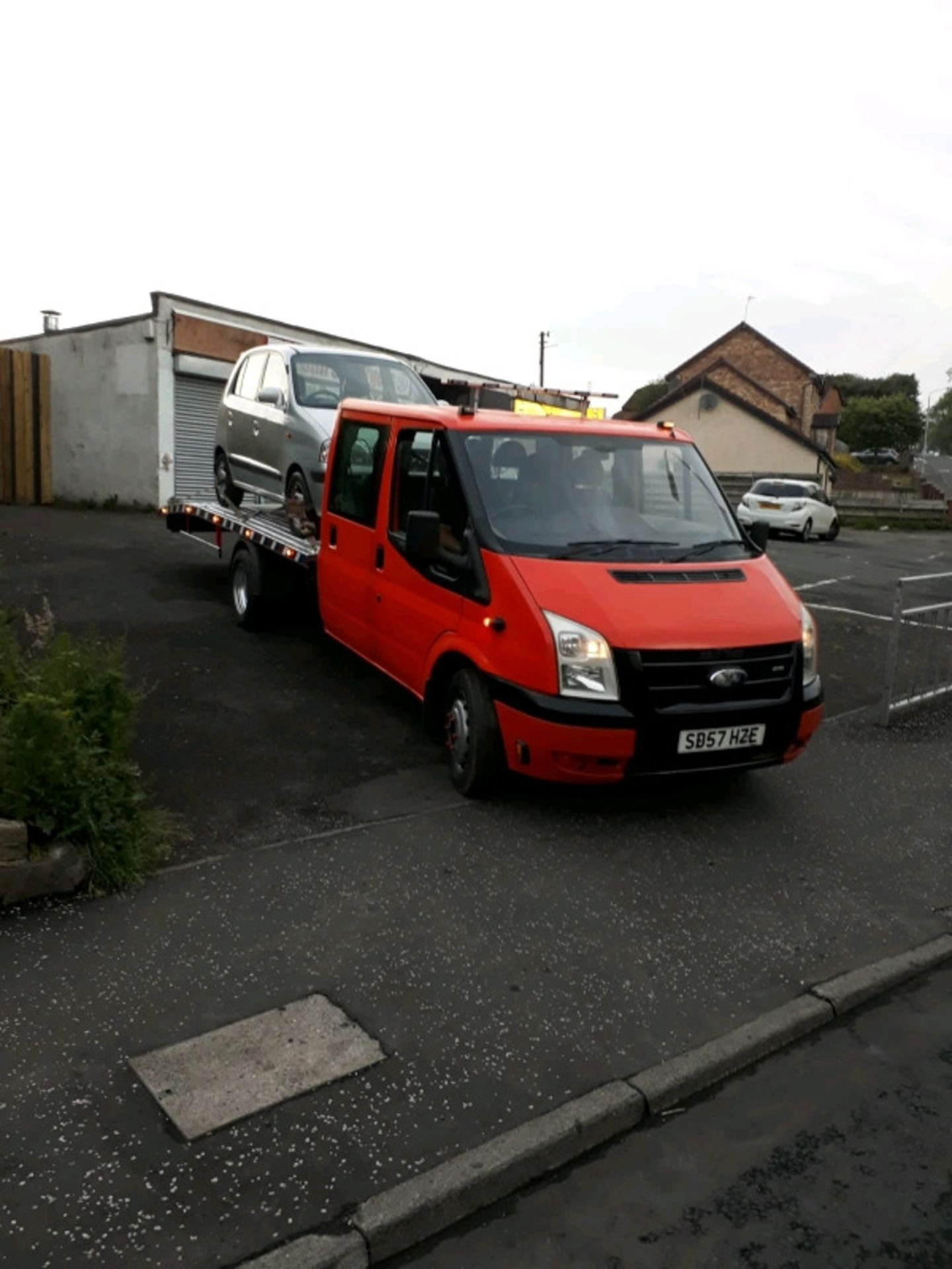 Lot 1 - Ford transit crew cab mk7 recovery truck 2007 57 plate low mileage