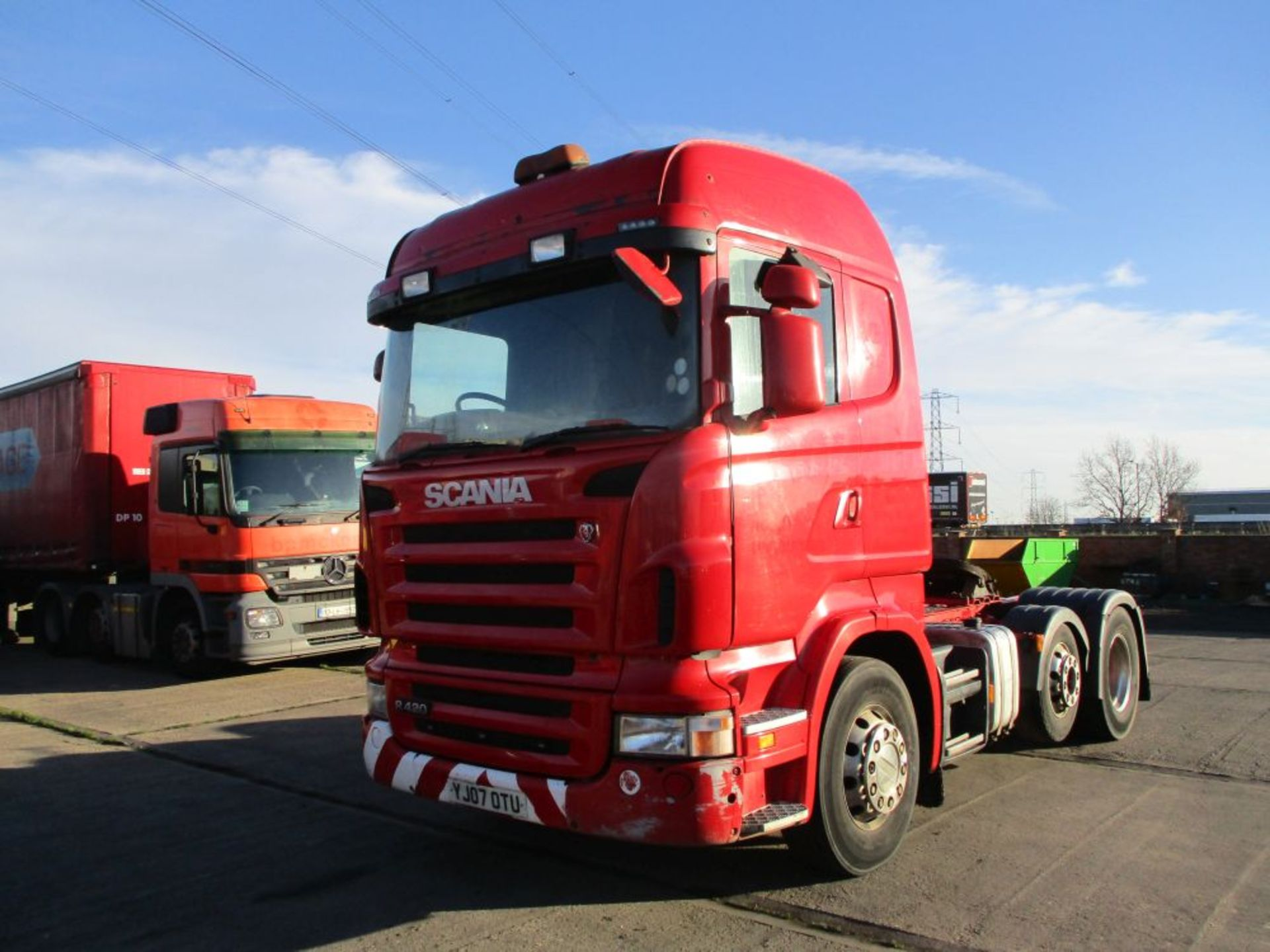 Lot 13 - Scania R420 Highline