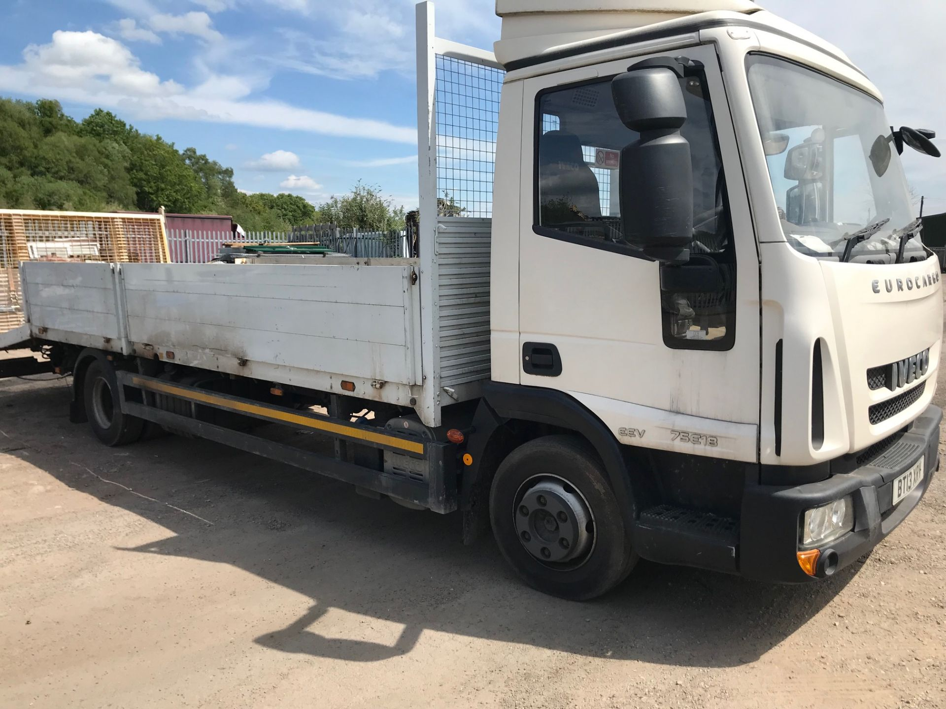 Lot 47 - 2013 Iveco Plant Truck (no VAT on hammer)