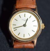 Pretty 9ct Gold Ladies Rotary Manual Wind Wristwatch